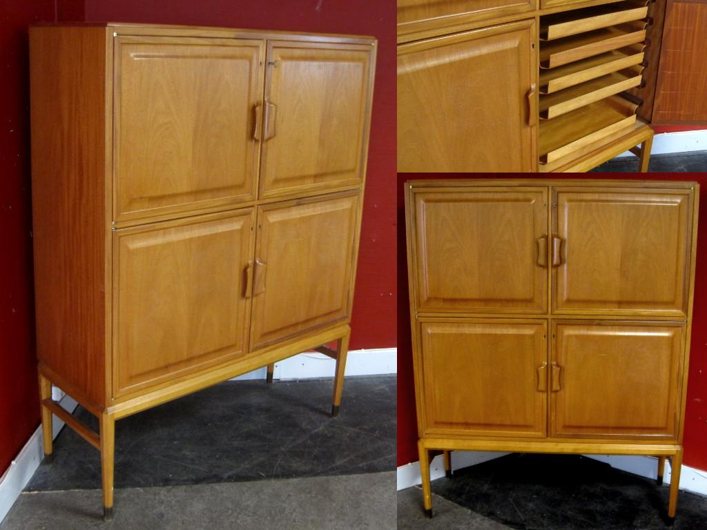 50's 60's 70's cabinets & shelves - Wanjas Vardagsrum, Sweden