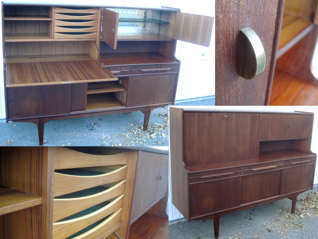 50's 60's 70's cabinets & shelves   wanjas vardagsrum, sweden