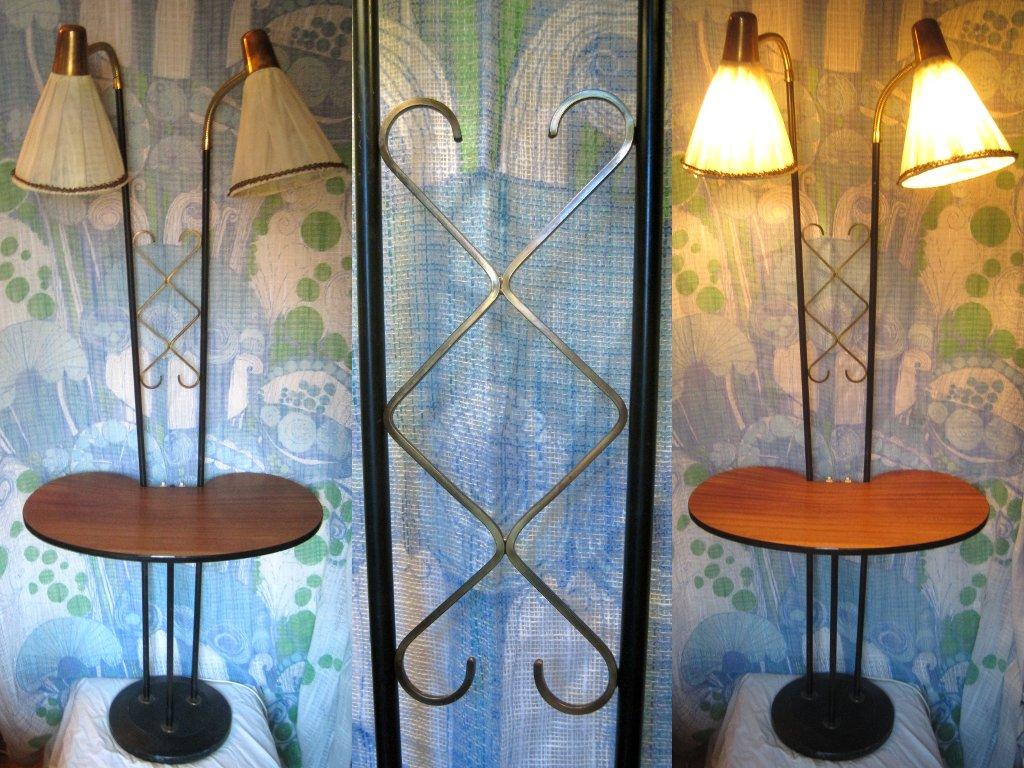 Belysning& speglar Wanjas Vardagsrum, Stockholm