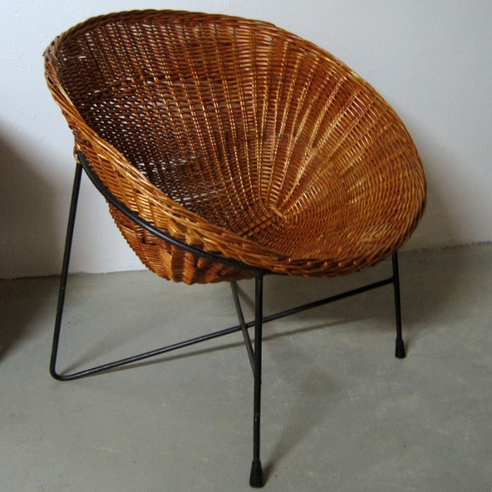Sold objects seating wanjas vardagsrum sweden - Ikea wicker lounge chair ...