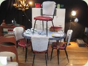 Genuine 50's American diner furniture set