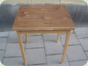 Small kitchen table with leaves