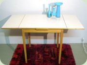 Swedish 60's Perstorp laminated small                           table