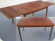 50's or 60's teak extendable dining table