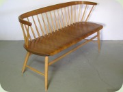 Swedish 50's sofa Florett 150 by Br. Wigell