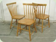 Swedish birch chairs