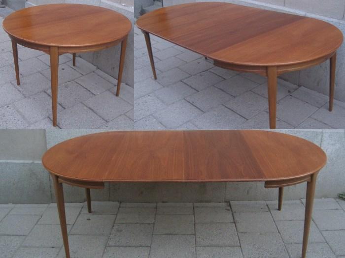 Matbord i valnot