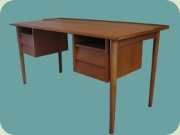 Swedish 50's or 60's teak desk