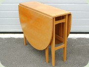Beech gate leg table