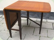 Swedish 50's or 60's teak gateleg table