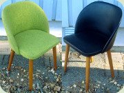 Swedish 60's chairs by                           Slätte Möbler