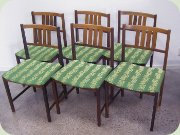 60's rosewood side chairs