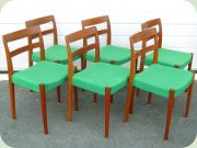 Set of 6 Garmi teak chairs by Nils Jonsson, Troeds Bjärnum