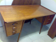 Swedish 50's teak desk PL. Uddebo by Svante Skogh, Möbelfabriken Balder