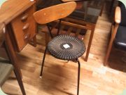 50's three legged chair