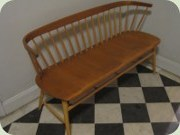 Swedish 50's teak & birch sofa, Wigells Florett