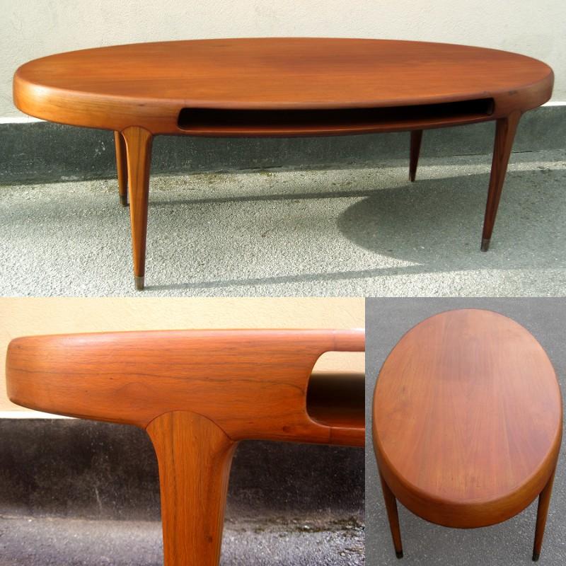 soffbord teak 60 tal dansk design m bel f r k k sovrum. Black Bedroom Furniture Sets. Home Design Ideas